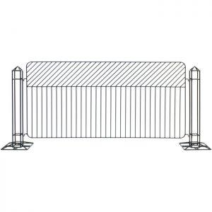 black geo fence